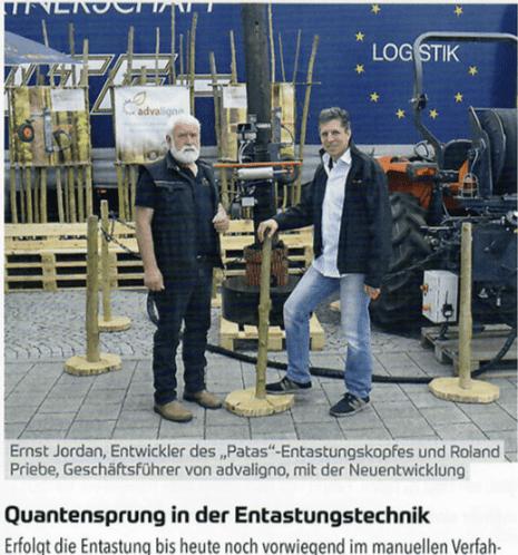 Quantensprung in der Entastungstechnik